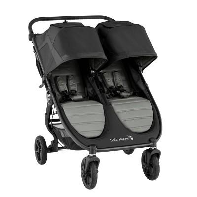 Baby Jogger City Mini GT2 Double Stroller - Slate Gray