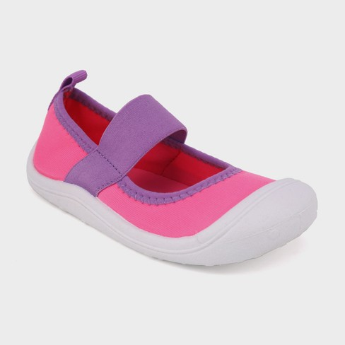 Toddler Girls' Kelsey Mary Jane Shoes - Cat & Jack™ Pink L - image 1 of 3