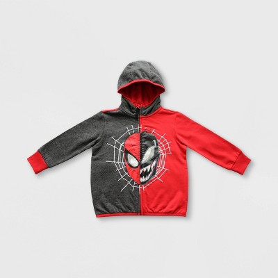 Boys' Marvel Spider-Man Venom Hoodie - Black/Red - Disney Store