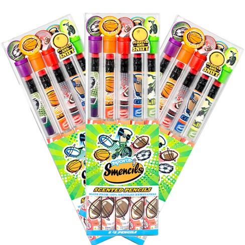 scentco 3pk sport smencils scented pencils 5ct