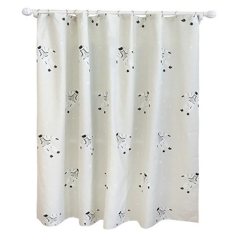 Astronaut Shower Curtain Calm Gray Pillowfort 15 Target