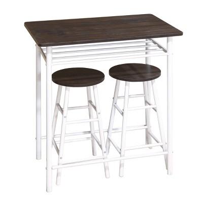 3pc Monty Counter Height Dining Set - Carolina Chair & Table