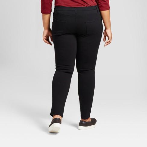 4652e90bff2 Women s Plus Size 5 Pocket Ponte Pants - Ava   Viv™   Target