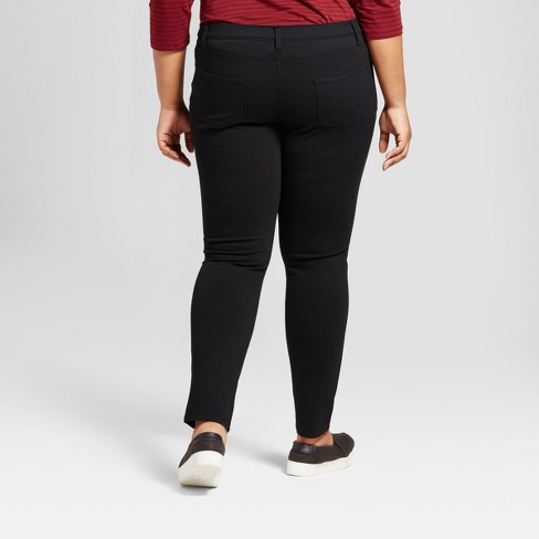 4f08b287ef3ef Women's Plus Size 5 Pocket Ponte Pants - Ava & Viv™ : Target