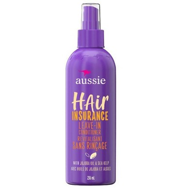 Aussie Hair Insurance Leave-In Conditioner w/ Jojoba & Sea Kelp - 8.0 fl oz