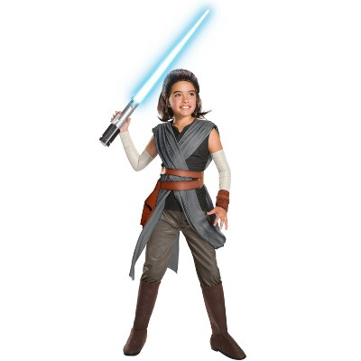Star Wars SW VIII Super Deluxe Rey Child Costume