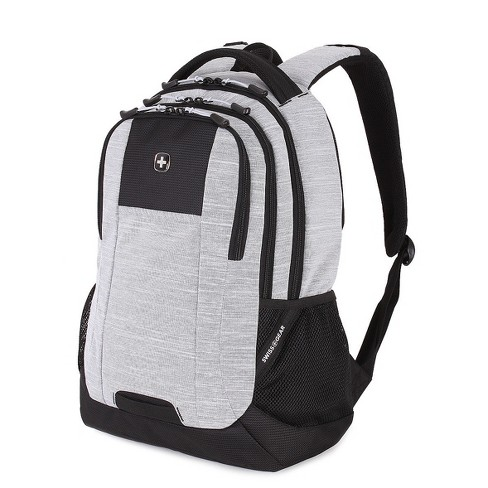 "SwissGear® 18"" Laptop Backpack - Light Heather Gray - image 1 of 5"