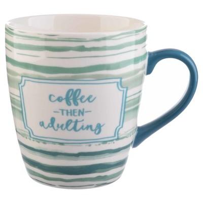 Threshold™ Jumbo Porcelain Coffee Mug 27oz Teal
