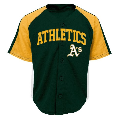 super popular a43f9 f9e45 Oakland Athletics Boys' Infant/Toddler Team Jersey - 4T