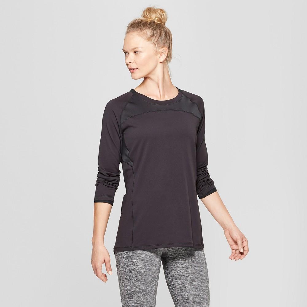 Women's Long Sleeve Run T-Shirt - C9 Champion Black L