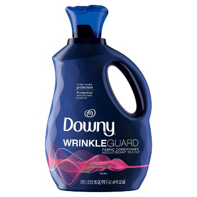 Downy WrinkleGuard Floral Liquid Fabric Softener and Conditioner - 64 fl oz