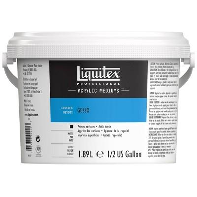 Liquitex Acrylic Gesso, 64 oz