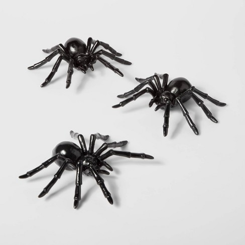 3pc Plastic Spiders Halloween Dcor - Hyde & EEK! Boutique™ - image 1 of 1