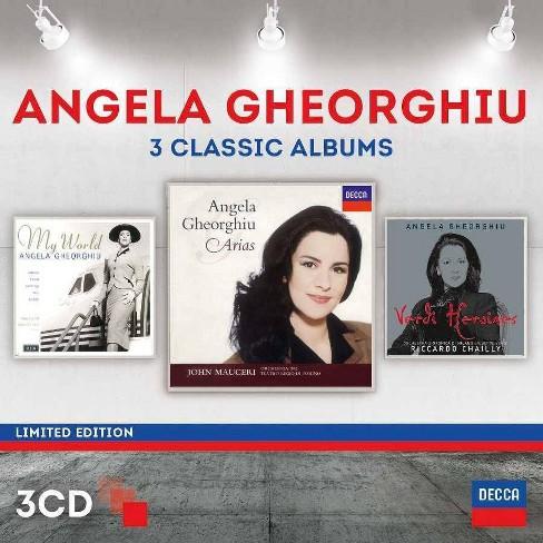 Angela Gheorghiu - Angela Gheorghiu: Three Classic Albums (CD) - image 1 of 1