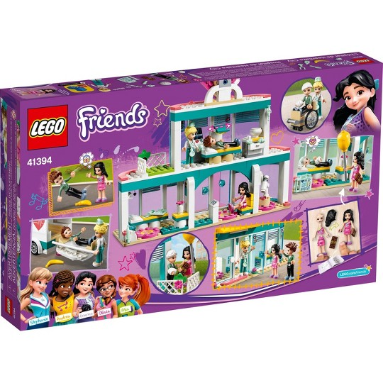 LEGO Friends Heartlake City Hospital Doctor Toy Building Kit 41394 image number null