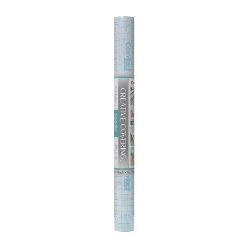 """Con-Tact Brand Creative Covering Multipurpose Shelf Liner - Adhesive Clear (18""""x 20') - image 1 of 3"""