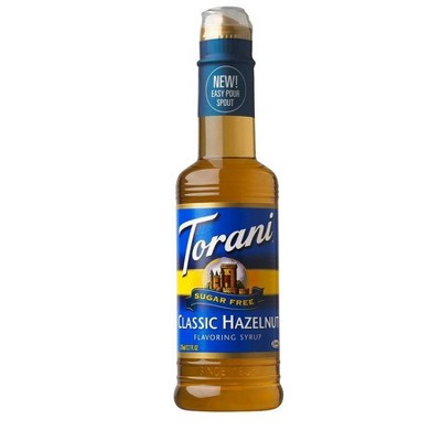 Torani Sugar Free Hazelnut Syrup - 12.7oz