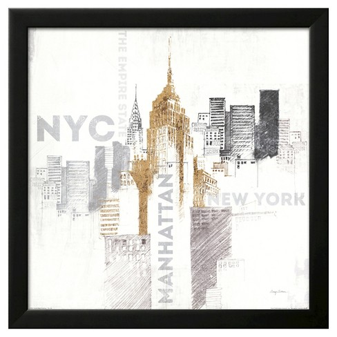 Empire State Building Framed Art Print - image 1 of 3
