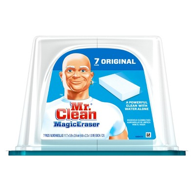 Mr. Clean Multi Purpose Unscented Magic Eraser - 7ct