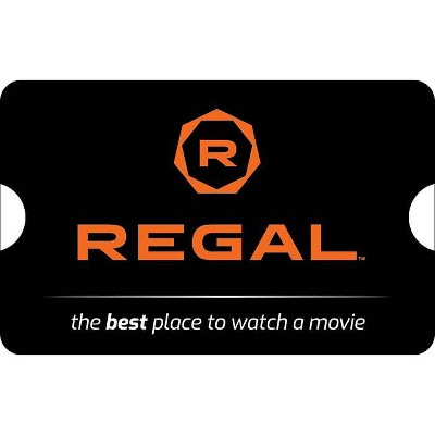 Regal Cinemas $50 (Email Delivery)