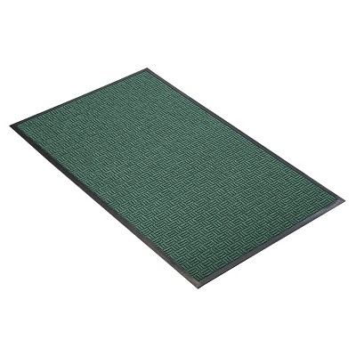 Hunter Green Solid Doormat - (2'X3') - HomeTrax