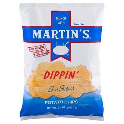 Martin's Sea Salt Flavored Dippin' Potato Chips - 9.5oz