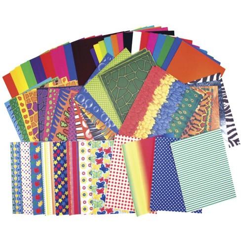 Roylco Preschool Paper pk, Assorted Sizes, pk of 176 - image 1 of 2