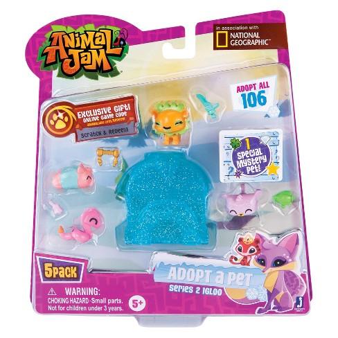 Animal Jam - Adopt a Pet 5pk #2 - Series 2 - image 1 of 2