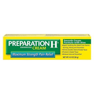 Preparation H® Multi-Symptom Relief Hemorrhoidal Cream with Aloe - 0.9oz