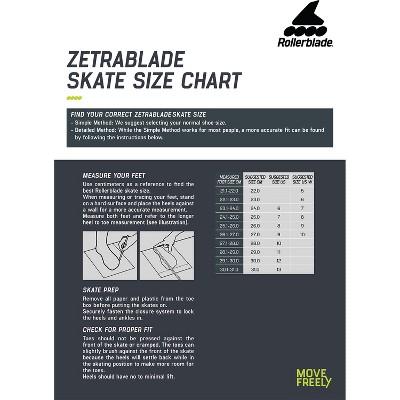 Rollerblade Zetrablade Elite Adult Men's Beginner Intermediate Recreation Fitness Outdoor Rollerblade Inline Skates, Size 10, Black/Lime