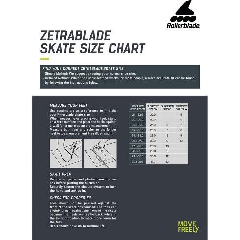 Rollerblade Zetrablade Elite Adult Men's Beginner Intermediate Recreation Fitness Outdoor Rollerblade Inline Skates, Size 10, Black/Lime - image 1 of 4