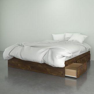 Queen Soho 3 Drawer Bed Truffle - Nexera