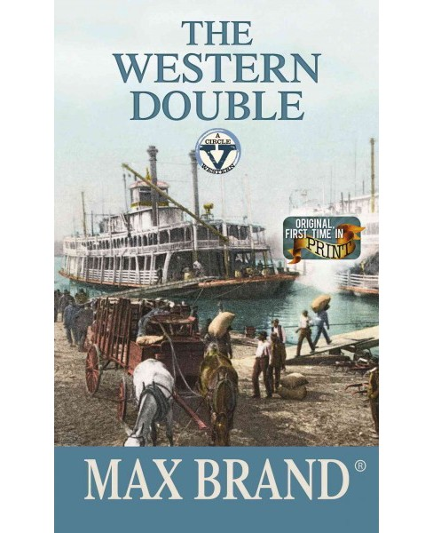 Western Double (Hardcover) (Max Brand) - image 1 of 1