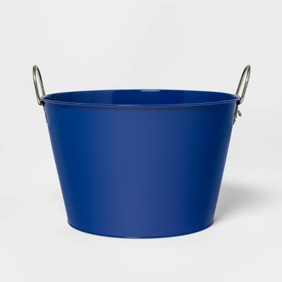 22.8L Metal Beverage Tub Blue - Sun Squad™