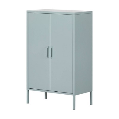 Crea Metal 2 Door Accent Cabinet - South Shore