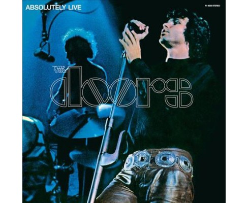 Doors - Absolutely Live (Midnight Blue) (Vinyl) - image 1 of 1