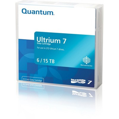 Quantum LTO Ultrium-7 Data Cartridge - LTO-7 - WORM - 6 TB (Native) / 15 TB (Compressed) - 3149.61 ft Tape Length