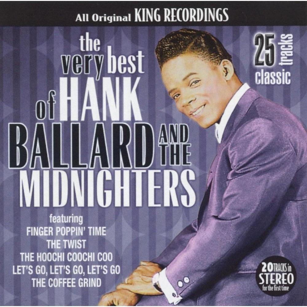 Hank Ballard - Very Best Of Hank Ballard (CD) Hank Ballard - Very Best Of Hank Ballard (CD)