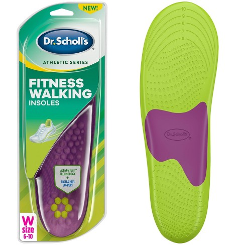 2ad91778ce4b Dr. Scholl s Athletic Series Fitness Walking Insoles Women Size 6-10    Target