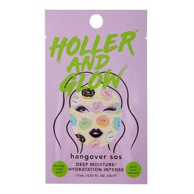 Holler and Glow Hangover SOS Deep Moisture Face Sheet Mask - 0.57 fl oz