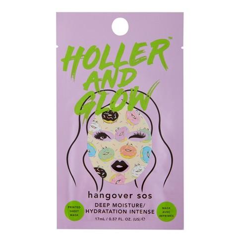Holler and Glow Hangover Sos Facial Treatments - .57 fl oz - image 1 of 4