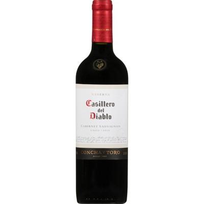 Casillero Del Diablo Cabernet Sauvignon Red Wine - 750ml Bottle
