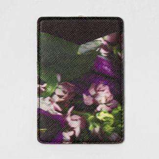 heyday™ Cell Phone Wallet Pocket - Dark Floral