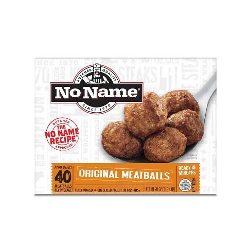 No Name Original Meatballs - Frozen - 20oz/40ct - image 1 of 3
