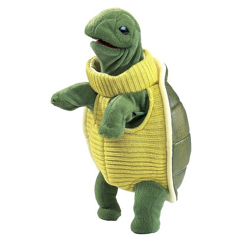 Folkmanis Turtleneck Turtle Hand Puppet - image 1 of 1
