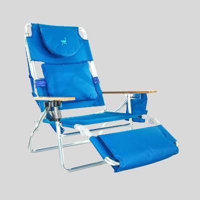 3-In-1 Lounge Beach Chair Blue - Ostrich