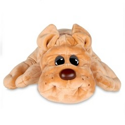 Pound Puppies Classic 80's Collection - Light Brown Rumple Skin