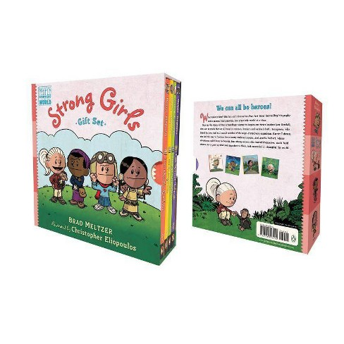 Strong Girls Gift Set - (Ordinary People Change the World) by  Brad Meltzer (Mixed Media Product) - image 1 of 1