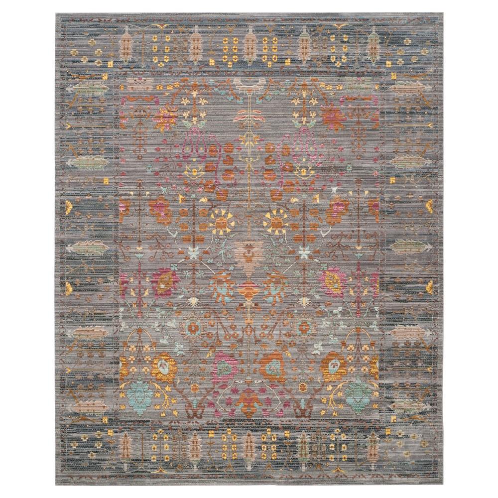 Aled Area Rug - Gray(8'x10') - Safavieh, Gray/Multi-Colored