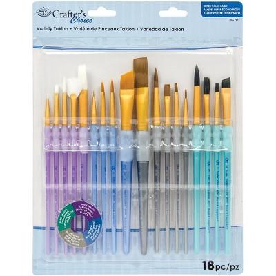 Crafter's Choice Variety Brush Value Set-18/Pkg